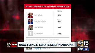 Poll shows latest on race for AZ U.S. Senate GOP primary - Video