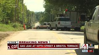 Gas leak at 107th and Bristol prompts Hazmat response