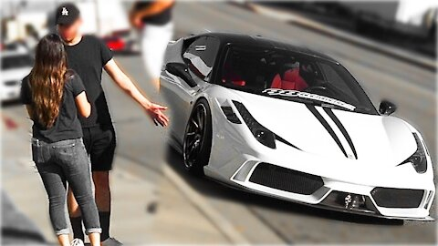 SUPERCARS FOR GIRLFRIEND *PRANK COMPILATION*