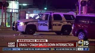 PD: Driver hit SUV, killed bicyclist in Glendale before hitting police car - Video