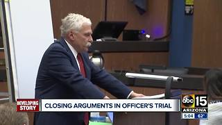 Lawyers issued closing arguments in the Philip Brailsford trial Tuesday afternoon - Video