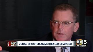 Mesa man charged for selling unlicensed ammo to Las Vegas shooter - Video