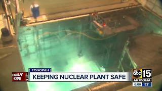 ABC15 gets a rare look inside the Palo Verde Nuclear Plant - Video