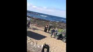 Star Wars Cast Spotted in Donegal - Video