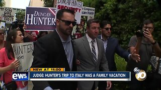 Judge: Hunter's trip to Italy was a family vacation