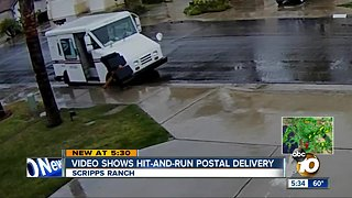 Video shows Scripps Ranch hit-and-run postal delivery