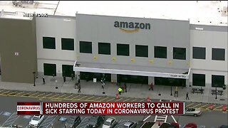 Hundreds of Amazon workers to call out sick today protesting unsafe working conditions