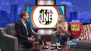 Ali Von Paris of Route 1 Apparel on Midday Maryland! - Video