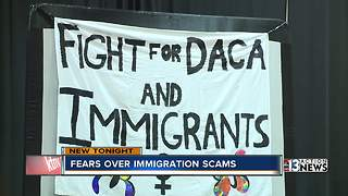 Advocates warn of immigration scams - Video