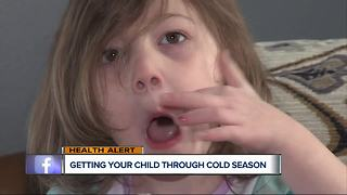 Ask Dr. Nandi: Getting your child through cold season - Video