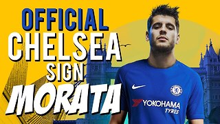OFFICIAL: Chelsea Confirm Signing Of Alvaro Morata For £70M! | #VFN - Video