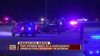 Multiple people shot outside of graduation ceremony in Georgia - Video