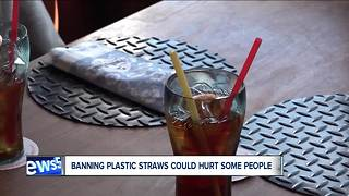 Plastic straw bans prompt questions, concern for people with disabilities - Video