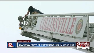 Bill would allow retired firefighters to volunteer