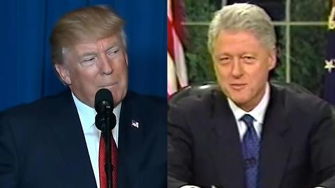 Bill Clinton or Donald Trump?