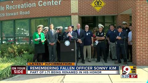 Lawmakers introduce bill to rename highway after fallen officer Sonny Kim