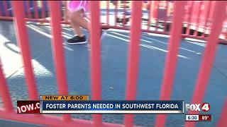 Desperate need for foster parents in SWFL - Video