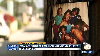 San Diego woman's brutal murder unsolved nine years later - Video