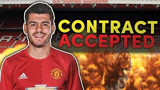 REVEALED: Manchester United To Confirm £80M Alvaro Morata Transfer This Week?! | Transfer Talk - Video