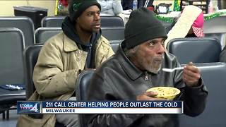 211 center helping people in extreme cold find shelter, emergency help - Video