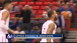 Jessup, Boise State hand Loyola-Chicago first loss, 87-53 - Video