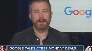 Google talks Cyber Monday deals - Video