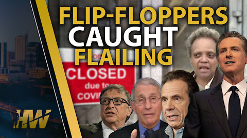 Flip-Floppers Caught Flailing