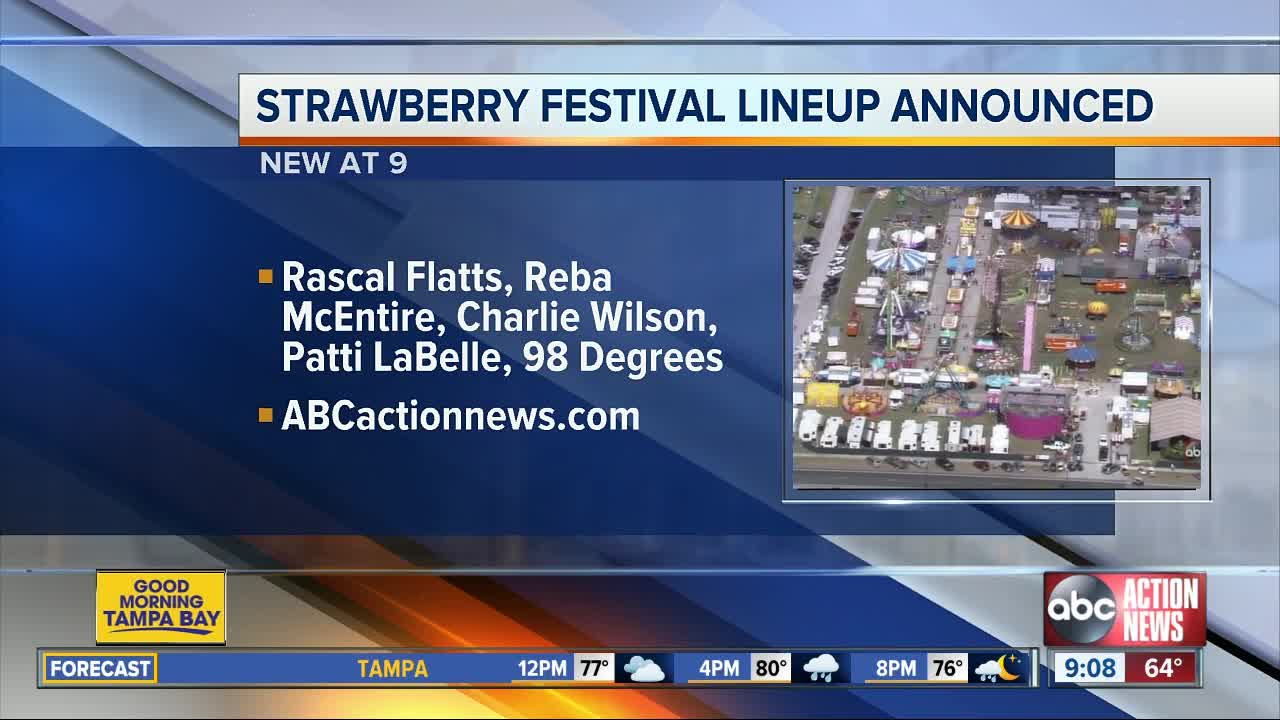 Florida Strawberry Festival 2020 lineup announced