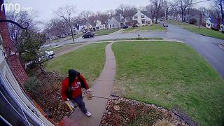 Porch pirates caught on camera in KCMO - Video