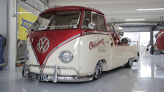 The Jet-Powered VW Camper Van | RIDICULOUS RIDES