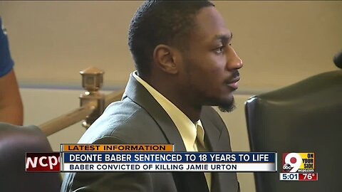 Deonte Baber sentenced to 18 years to life