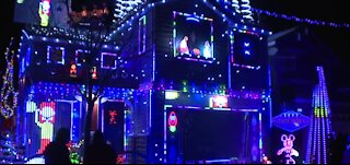 Las Vegas family competes on ABC's The Great Christmas Light Fight