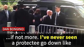 Secret Service Agent Reveals HIGHLY Disturbing Thing He Saw When Hillary Fell - Video