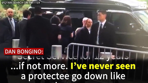 Secret Service Agent Reveals HIGHLY Disturbing Thing He Saw When Hillary Fell