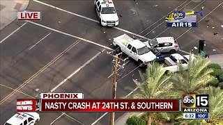 Serious crash at 24th Street/Southern - Video