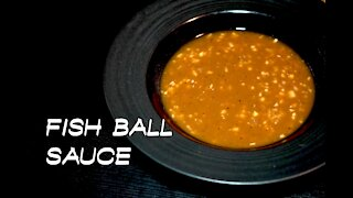 Easy and quick way to make fishball/kikiam sauce