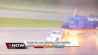 Florida has most lightning strike fatalities