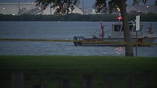 Tampa water rescue - Video