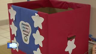 Partners in Education: Box for troops - Video