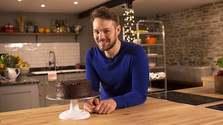 John Whaite's secret ingredient chocolate fudge cake - Video