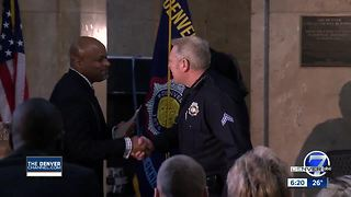 Denver Police Officers honored for community outreach efforts - Video