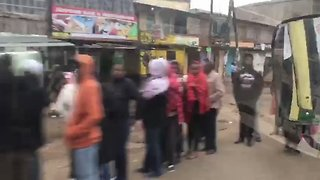Long Lines of Voters Seen in Nairobi as Polls Open - Video