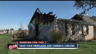 Uncleared chimney may be the cause of Avon house fire - Video