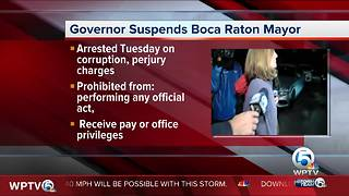 Governor suspends Boca Raton Mayor Susan Haynie