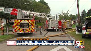 Cicinnati Fire Department needs recruits to counter retirement rate