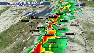 Line of severe storms could hit Northeast Ohio during evening rush hour