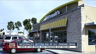 McDonald's getting rid of Hi-C Orange drink - Video