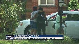Police investigating death of 8-year-old - Video