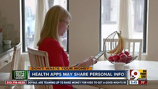 Don't Waste Your Money: Health apps might share personal data