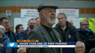 'This isn't the answer': Residents angered over pay to park plan for Milwaukee County Parks - Video